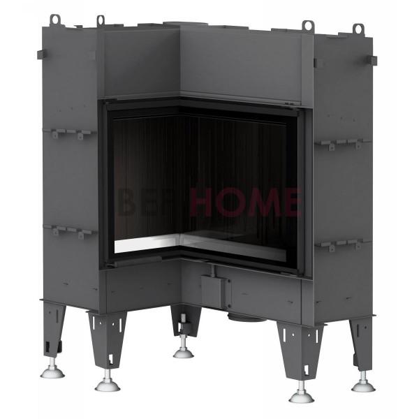 bef flat 6 l warmluft kamineinsatz eckkamin thermoworld ofenshop. Black Bedroom Furniture Sets. Home Design Ideas