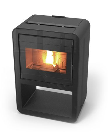 thermorossi cuba 12 design pelletofen kanalisierbar 12 kw thermoworld ofenshop. Black Bedroom Furniture Sets. Home Design Ideas