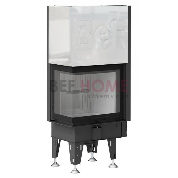 BeF Aquatic WH 60 V CL/CP, wasserführender Kamineinsatz 10 kW, Tür hochschiebbar