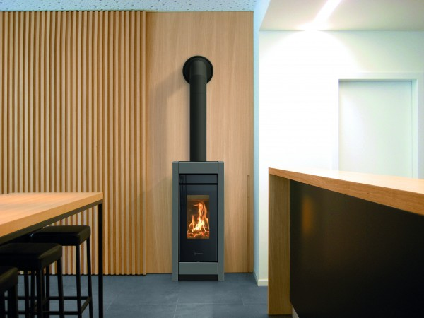 Thermorossi Aromy Wood Metalcolor Kaminofen