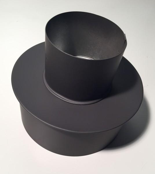 Pelletrohr-Erweiterung Ø 80mm M → 130mm