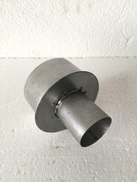 Zuluftrohr Erweiterung Ø 61 mm → 100 mm