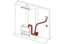 EdilKamin KIT Air Diffuser 1 - Ventilator zur Verteilung der Warmluft