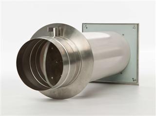 Verbrennungsluftsystem (VLS) mit Einzelklappe, verschiedene Ø