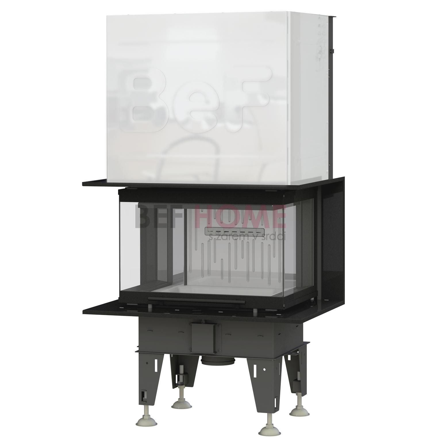 bef trend v6 c warmluft kamineinsatz panorama hochschiebbar 6 kw thermoworld ofenshop. Black Bedroom Furniture Sets. Home Design Ideas