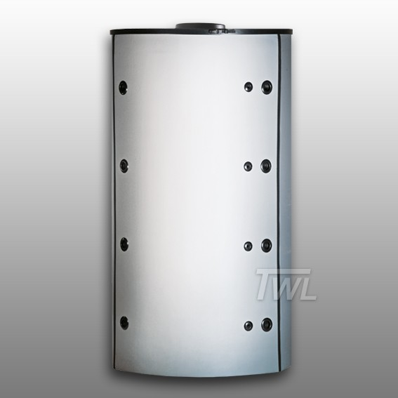 TWL Hygiene-Kombispeicher 800 Liter mit 90° Muffenanordnung