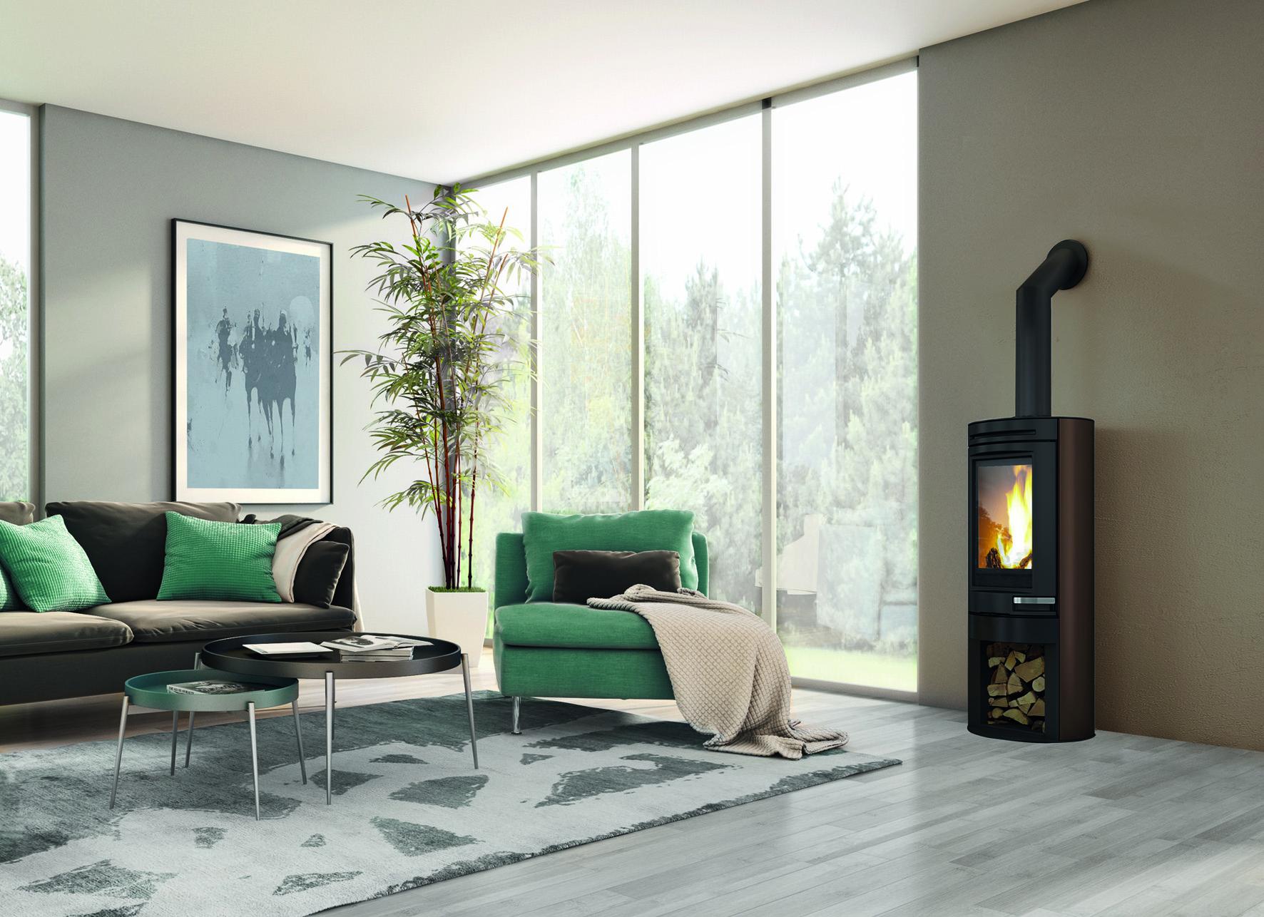 warmluft kaminofen kanalisierbar online kaufen bei. Black Bedroom Furniture Sets. Home Design Ideas