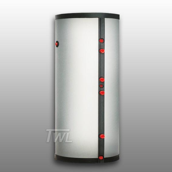 L Edelstahl Trinkwasserspeicher mit Wärmetauscher