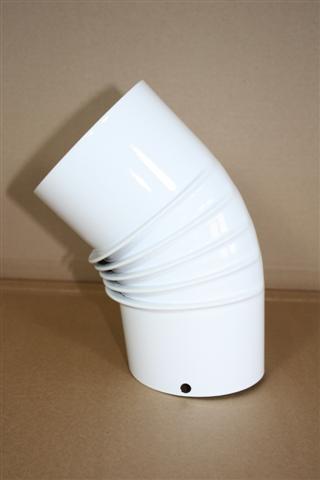 pellet bogen 45 ohne r senotherm wei verschiedene thermoworld ofenshop. Black Bedroom Furniture Sets. Home Design Ideas