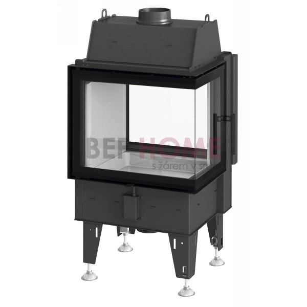 BeF Twin 7 CP Warmluft-Kamineinsatz Tunnelkamin 7 kW