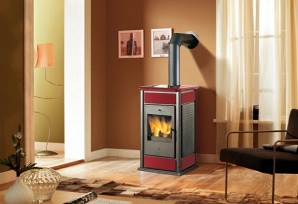 EdilKamin Warm Kaminofen Keramik wasserführend 19,7 kW