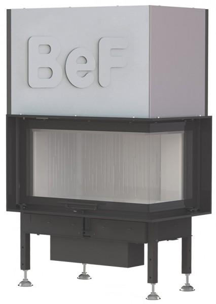 BeF Trend V10 CP Kamineinsatz Eckkamin 13 kW