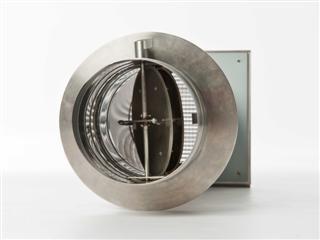 Verbrennungsluftsystem (VLS) mit Doppelklappe, verschiedene Ø