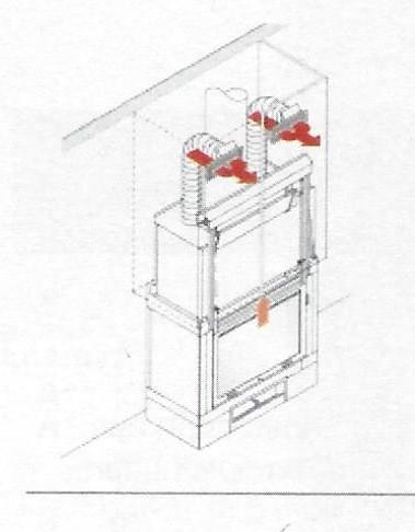 KIT UNO/BIS Warmluftverteilung Aluminium