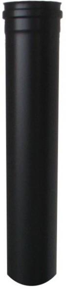 Pellet-Teleskop-Abgasrohr, Ø 80mm ausziehbar L: 20-25 cm, druckdicht