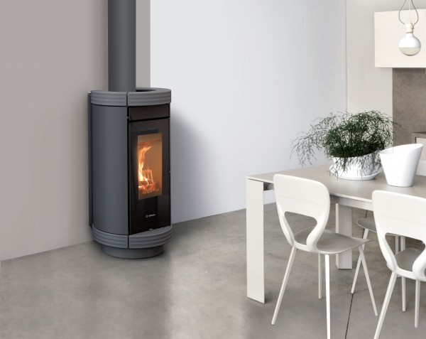 Thermorossi Dorica Wood Highpower Metalcolor Kaminofen 8,5 kW