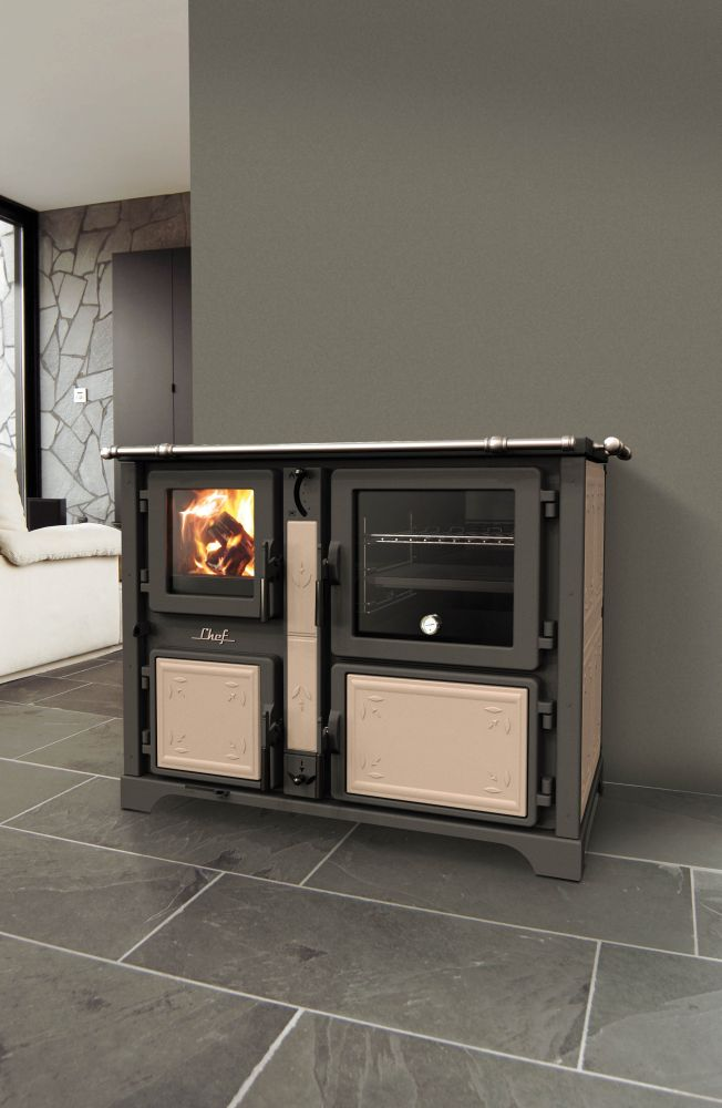 thermorossi chef f fiori k chenherd mit backofen 16 4 kw thermoworld ofenshop. Black Bedroom Furniture Sets. Home Design Ideas