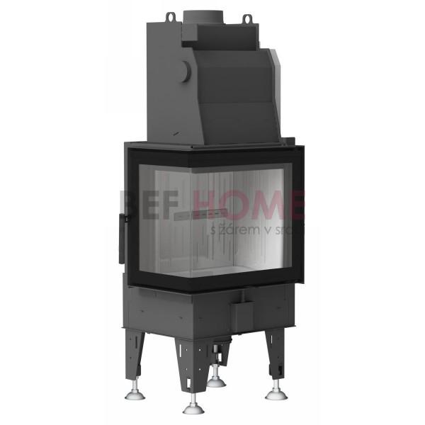 BeF Aquatic WH 80 CL/CP, wasserführender Kamineinsatz 14,5 kW