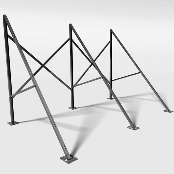 aufst nderung f r flachdach aluminium 20 r hren thermoworld ofenshop. Black Bedroom Furniture Sets. Home Design Ideas
