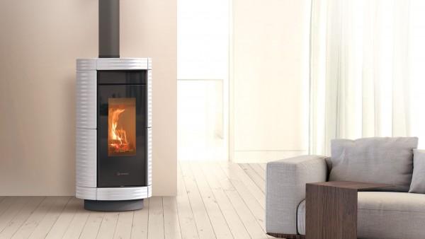 Thermorossi Dorica Wood Maiolica Kaminofen 6 kW