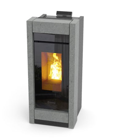 Thermorossi Essenza Wood Stone Kaminofen 6 kW