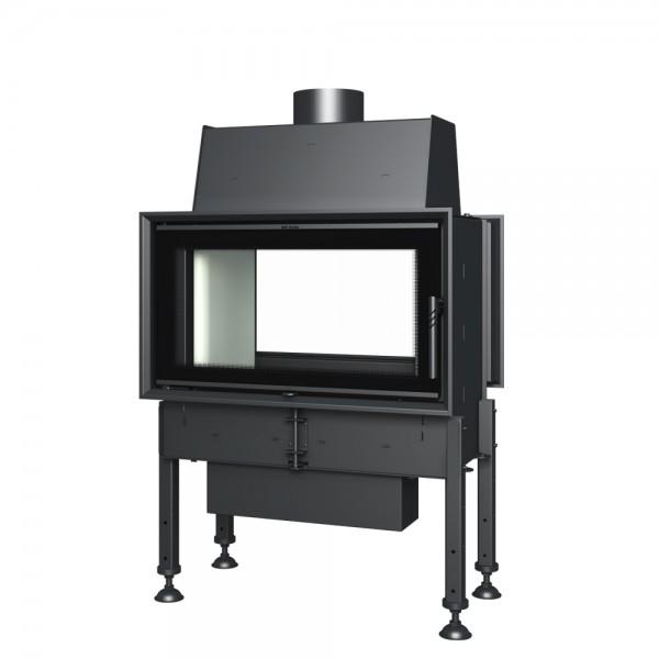 kamineinsatz bef twin 9 thermoworld ofenshop. Black Bedroom Furniture Sets. Home Design Ideas