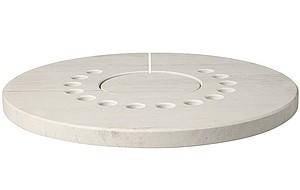 Aduro Hybrid Kalksteintopplatte