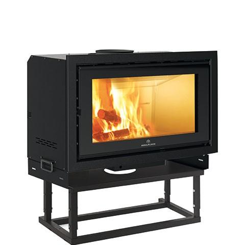 EdilKamin Screen Evo 100 Holz-Kamineinsatz 14,5 kW